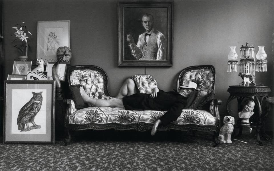 Arnold Newman show in the Hague