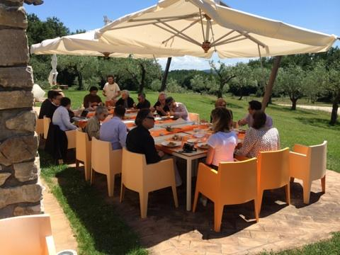 The Todi Circle convened again for the fourth year at the Todi Castle Estate in Umbria